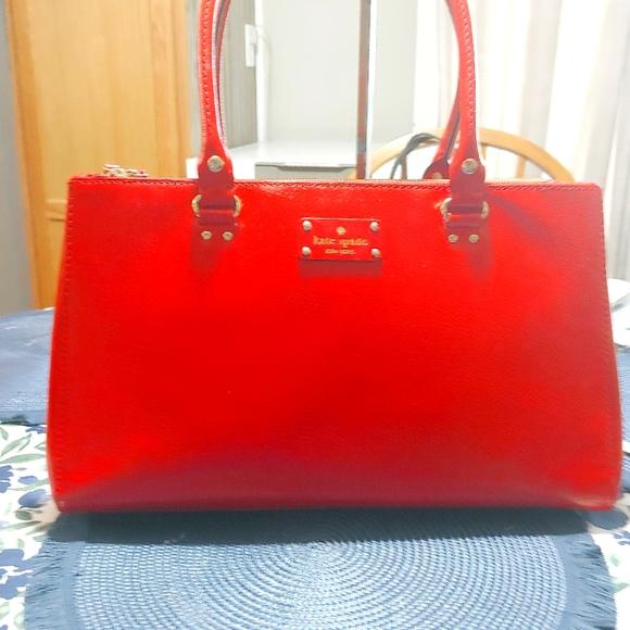 Kare Spade Leather Tote Bag